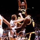 Favorably compared to Michael Jordan throughout his collegiate career, Bias never made it to the NBA.  Two days after becoming the second overall pick in the '86 draft, Bias died from cardiac arrhythmia induced by a cocaine overdose.