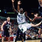 The 30-year-old NBA player was killed when a drunk driver travelling the wrong way on the highway collided with his SUV. Sealy, then with the Timberwolves, was returning from a birthday celebration for Kevin Garnett. The drunk driver pleaded guilty to vehicular manslaughter and received a four-year prison sentence.