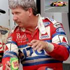 The 47-year-old NASCAR driver died on impact in an accident during practice for the Daytona 500. He crashed into the wall nearly head-on after a front tire failure.