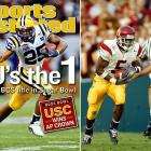 The last of the split championships, college football fans ached to see USC's explosive offense match up against LSU's stingy defense. Excluding a late September loss at Cal, the Trojans won all of their games by at least two touchdowns and averaged 41.1 points per game. LSU's offense wasn't quite as prolific, but Nick Saban's defense only allowed 11 points per game. USC beat Michigan in the Rose Bowl while LSU knocked off Oklahoma in the Sugar Bowl. The game was played and the argument still has not been resolved.