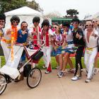 Fueled by gravy sandwiches, Elvis impersonators burned up San Diego's Rock 'n' Roll Marathon.