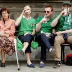 One of these things at the Euro 2012 tournament is not like the others...