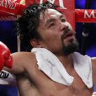 And this concludes another bruising round of  Did You See That? . Like Manny in his corner, we know you'll come back strong after losing this split lip decision.