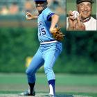 """Feared by opposing hitters and beloved in Atlanta, Phil Niekro was elected to the Hall of Fame in 1997 and leads all knuckleball pitchers with 318 career wins. Niekro pitched 21 of his 24 seasons for the Milwaukee/Atlanta Braves, and in that time led the National League in innings pitched and complete games four times, wins twice and ERA once. Niekro's knuckleball attained somewhat of a mythical reputation, prompting Bobby Murcer to claim that hitting the pitch was """"like eating Jell-O with chopsticks"""" and Pete Rose to state that """"trying to hit that pitch is a miserable way to make a living."""""""