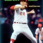 A three-time All-Star for the Chicago White Sox, Wilbur Wood led the American League with 24 wins in both 1971 and 1972, though he never won a Cy Young award. After placing third in 1971 behind Vida Blue and Mickey Lolich, Wood narrowly lost in 1972 to renowned spitballer Gaylord Perry, who eked out the win by six points. Wood started both games of a doubleheader for the White Sox in 1973 (losing both) and infamously hit three consecutive batters in the first inning of a game against the California Angels. He finished with a 164-156 record in 17 seasons, 12 with the White Sox, before retiring after the 1978 season.