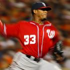 Edwin Jackson (4-4) took a one-hitter into the seventh inning.  Jackson gave up one run, four hits and a walk in 6 1/3 innings. He retired the first 12 batters he faced and permitted only one runner past first base through six innings.