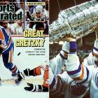 Rebounding from a devastating playoff elimination by Calgary in 1986, the Oilers resumed their Cup-winning ways by bagging the Presidents' Trophy, then blitzing the Kings with a 13-3 Game 2 victory in the first round that ignited an eight-game winning streak that took them past the Jets. After elminating the Red Wings in five, they survived a seven-game dogfight with the Flyers in the Cup final.
