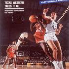 Riley graces the cover of  Sports Illustrated  despite appearing to commit a blocking foul in the 1966 national title game. Riley's Kentucky Wildcats were shocked by Texas Western, 72-65, in a game that would be later commemorated in the Disney movie  Glory Road . Riley has a cameo in the film.