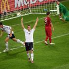 """It was a rather dreary affair from two usually exciting squads, but the Germans rose to the top of the """"Group of Death"""" after a 72' minute header from forward Mario Gomez. The typically efficient Germans controlled the midfield, anchored predominantly by Mesut Ozil, who, along with countryman Sami Khedira, was facing off against Real Madrid teammates Cristiano Ronaldo, Pepe and Fabio Coentrao."""