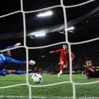 """Cristiano Ronaldo has heard plenty of criticism for his international struggles. If he continues to play the way he did in Portugal's 2-1 defeat of the Netherlands, he may contend for top honors at Euro 2012. Ronaldo was wondrous in the midfield, scoring twice and creating a litany of chances in Portugal's dominance of the disappointing Dutch. The World Cup finalists wilted in the """"group of death,"""" losing all three matches and receiving underwhelming play from all except new starter Rafael Van der Vaart. Portugal advances to the quarterfinals to face the Czech Republic in the quarterfinals.  With the goals, Ronaldo became the first Portuguese national to score in five different major tournaments."""
