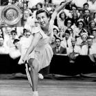 US Open (1951, '52, '53)   Wimbledon (1952, '53, '54)   Australian Open (1953)   French Open (1953, '54)