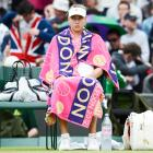 After a fourth-round loss to Sabine Lisicki, Sharapova will lose her No. 1 ranking by tournament's end. Lisicki played an aggressive, offensive game and was on point with her serves. The soon-to-be-former No. 1 continues the trend of women's Grand Slam champs crashing out early at the next major.