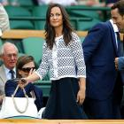 As is usually the case at tennis' oldest Grand Slam, spotting royals executing the utmost civility is a sport all of its own. Here, Pippa Middleton, little sister of Kate, the Duchess of Cambridge and future Queen of England, watched Serena Williams' match from the Royal Box at Centre Court on the tournament's first Thursday.
