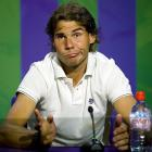 """The facial expression in the photo says it all. The tennis world was left stunned when Nadal fell to World No. 100 Lukas Rosol in the second round. It marked his earliest departure from a Grand Slam since 2005 and snapped a streak of five straight finals appearances at Wimbledon. """"It's not a tragedy,"""" Nadal said. """"It's only a tennis match."""""""