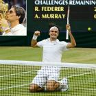 The 'Swiss Maestro' took down Andy Murray 4-6, 7-5, 6-3, 6-4 in the Wimbledon final. In earning his record-tying seventh Wimbledon title, Federer will reclaim the No. 1 ranking and match Pete Sampras' record of 286 weeks atop the rankings. Federer is now 7-1 in Wimbledon finals and furthered his own record with a world's best 17 Grand Slam titles.   Here's a look at some of the best shots of Wimbledon 2012.