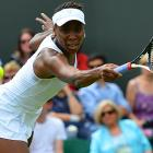 The five-time singles champ and elder Williams sister saw yet another early-round departure, this time in the first round. Venus dropped her match to Russian Elena Vesnina, 6-1, 6-3 on the tournament's first Tuesday. Alongside sister Serena, Venus will be competing in doubles during the upcoming London Olympics, which will also be staged at the grounds of Wimbledon.