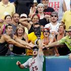 Pirates fans are always happy to lend the visiting team helping hands.