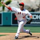 Few expected Frieri to be thrust into the closer's role after he was acquired from San Diego in May, but a crisis at the back of the Angels' bullpen allowed the Colombian fireballer a chance, and the results have been incredible. In 26 games with the Angels, Frieri has not allowed an earned run and is averaging an eye-popping 15.4 strikeouts per nine innings. While he is still having some issues with his control (17 walks), Frieri appears to be the second coming of Frankie Rodriguez in Anaheim: A closer who puts runners on base but will finish the game with strikeouts.