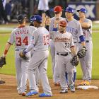 With its 8-0 victory, the NL has its first three-game winning streak in two decades. It now leads the overall series 43-38-2 and will have homefield advantage for the World Series.