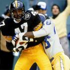 Blount was the best cornerback of his era and a four-time champion with the Steelers. He was the NFL's defensive MVP in 1975 and played in five Pro Bowls.     Runner-up:   Joey Browner    Worthy of consideration:   Glenn Blackwood, LeRoy Irvin, John Lynch