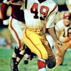 The dynamic Mitchell, a daring halfback and wide receiver, had 14,078 combined yards (and 91 touchdowns) in his 11 seasons with the Browns and Redskins.   Runner-up:   Dennis Smith    Worthy of consideration:   Ernie Barnes, Tony Richardson