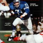 "The fiesty lineman played 12 seasons for the Lions and was an All-Pro selection three times before retiring for a career in Hollywood and the immortal line, ""Mongo only pawn in game of life.""   Runner-up:   Walter Jones    Worthy of consideration:   Tony Boselli, Fred Dean, Walter Jones, Charles Mann"