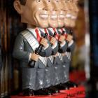 In 2004, former bodybuilder and California governor sued a small northeast company for producing these bobblehead dolls