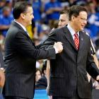 Can't they all just get along? Unfortunately they couldn't, as a deal could not be struck to save the storied rivalry game between Indiana and Kentucky. Coaches John Calipari and Tom Crean were unable to agree on a venue for the contest (Crean wanted to continue a home-and-home setup, Calipari favored a matchup in Lucas Oil Stadium). Both schools said the issue would be revisited at a later date.