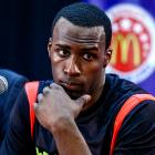 Shabazz Muhammad's summer kicked off with a high-profile commitment to Ben Howland's UCLA program and has concluded with an NCAA investigation and a missed trip to an exhibition in China. The NCAA is investigating whether Muhammad received improper benefits during his high-profile recruitment. Muhammad hopes to be cleared for the Bruins' season opener against Indiana State.