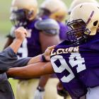 Tough motivational techniques have their limits, of course. Mr. Hopson, Alcorn State's new head coach, is now well aware that players have a distinct size advantage, plus they wear hard helmets and pads.