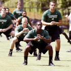 College football teams must practice for a long time before they are ready to play an actual game, something the new FCS Indepedent 49ers have quickly learned.