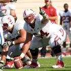The 6-foot-5, 301-pounder has speed and helps spring rushers and protect the quarterback.