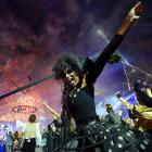 Harry Potter fans surely spotted the evil Bellatrix Lestrange frolicking amid the revelers as the London Games came to their inevitable conclusion.