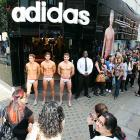 A jolly good way to drum up business, or at least crowds of women: station three swarthy lads in their underwear outside the front door. Inside the adidas Performance Store in London sat England's 18-year-old diving bronze medalist with a quill and a big stack of books he'd written.