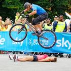 "Described as ""a free, fun, family cycling event from British Cycling and Sky held in partnership with Birmingham City Council, it offers people of all ages and abilities the chance to cycle around a traffic-free city"" while apparently running over hapless pedestrians."
