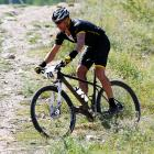 The controversial cyclist came out of the weeds to finish second in the Power of Four mountain bike race at Colorado's Aspen Mountain (a logical place for a mountain bike race). It was his first appearance since the U.S. Anti-Doping Association unceremoniously stripped his seven Tour de France titles and told him to never darken pro cycling's doorway again.