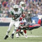 Jets running back Curtis Martin eludes a tackle against the Bills in 2004.