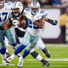 Of the slew of running backs returning from major injury in 2011, no one's contributions will be more pivotal to their team's playoff contention than DeMarco Murray in Dallas. If the Cowboys can run the ball effectively, Dallas won't have an issue with fourth-quarter leads routinely evaporating. Chicago's Matt Forte, Buffalo's Fred Jackson, Kansas City's Jamaal Charles, Oakland's Darren McFadden, Pittsburgh's Rashard Mendenhall and Minnesota's Adrian Peterson are other lead rushers on their way back this year.