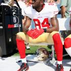 Alex Smith will endure a season-long struggle to fully involve receiver Randy Moss in the 49ers passing game. Moss won't go all 2010 on his new team and lose interest in the proceedings, because he knows he can't afford to at this point in his career, and San Francisco won't be a losing team. But it'll be a one-and-done experience for Moss in the Bay Area, and Jim Harbaugh's early enthusiasm for the move will not be supported by the results.