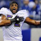 If you know anything about football, you know how hard Ray Lewis works. He's the epitome of hard-working, and he's not slowing down in old age. At 37, entering his 17th season, Lewis decided to shed weight to better keep up with the league's trend toward passing. It's that dedication to his craft that has earned the intimidating, hard-hitting linebacker 13 Pro Bowl nods, 10 All-Pro selections, a Super Bowl MVP award, two Defensive Player of the Year honors and a sure trip to the Hall of Fame as soon as he's eligible.