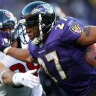 Ray Rice perfectly represents the gritty, no-nonsense approach of the Ravens. Despite doubts about his size entering the league, Rice has proven capable of being a workhorse back as the heart and soul of the Baltimore offense. Not only can he catch passes and turn any play into a big one, but also he doesn't fear running between the tackles.