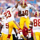 Robert Griffin III (10) got his Redskins' career off to a good start. The Heisman Trophy winner was 4 of 6 for 70 yards and a touchdown in a 7-6 win over Buffalo. His trademark running game was not on display, but he wasn't sacked on any of his 14 plays.