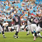 Matt Schaub returned to action for the first time since breaking his right foot last season in a Texans' 26-13 win over the Panthers. He completed three passes for 52 yards, including a 22-yard strike on third down which set up a field goal.