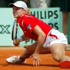 Nobody said tennis was easy. In 2003, Justine Henin stopped Clijsters in four finals, including Roland Garros.