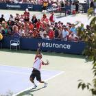 Scenes from the U.S. Open