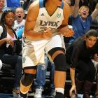 If Moore (16.4 points and 6.0 rebounds during the regular season) and the Lynx run the table again, the 6-foot forward will become the first draft pick to win titles in her first two pro seasons since Tina Thompson in 1997.