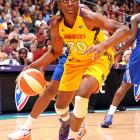 The former Stanford star -- she was the top overall pick in this year's draft -- started all 33 games for the Sparks during the regular season, and was the league's player of the month for September.