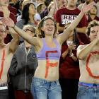 A red letter day indeed for Stanford fans their Cardinal downed Duke at Stanford Stadium.
