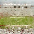 The field in Tallahassee, as seen through the tear-soaked eyes of a Savannah State fan after Florida State washed out the Tigers, 55-0, in a game called by rain with 8:59 left in the third quarter.