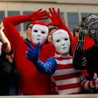 Every game day is Halloween in Lubbock.